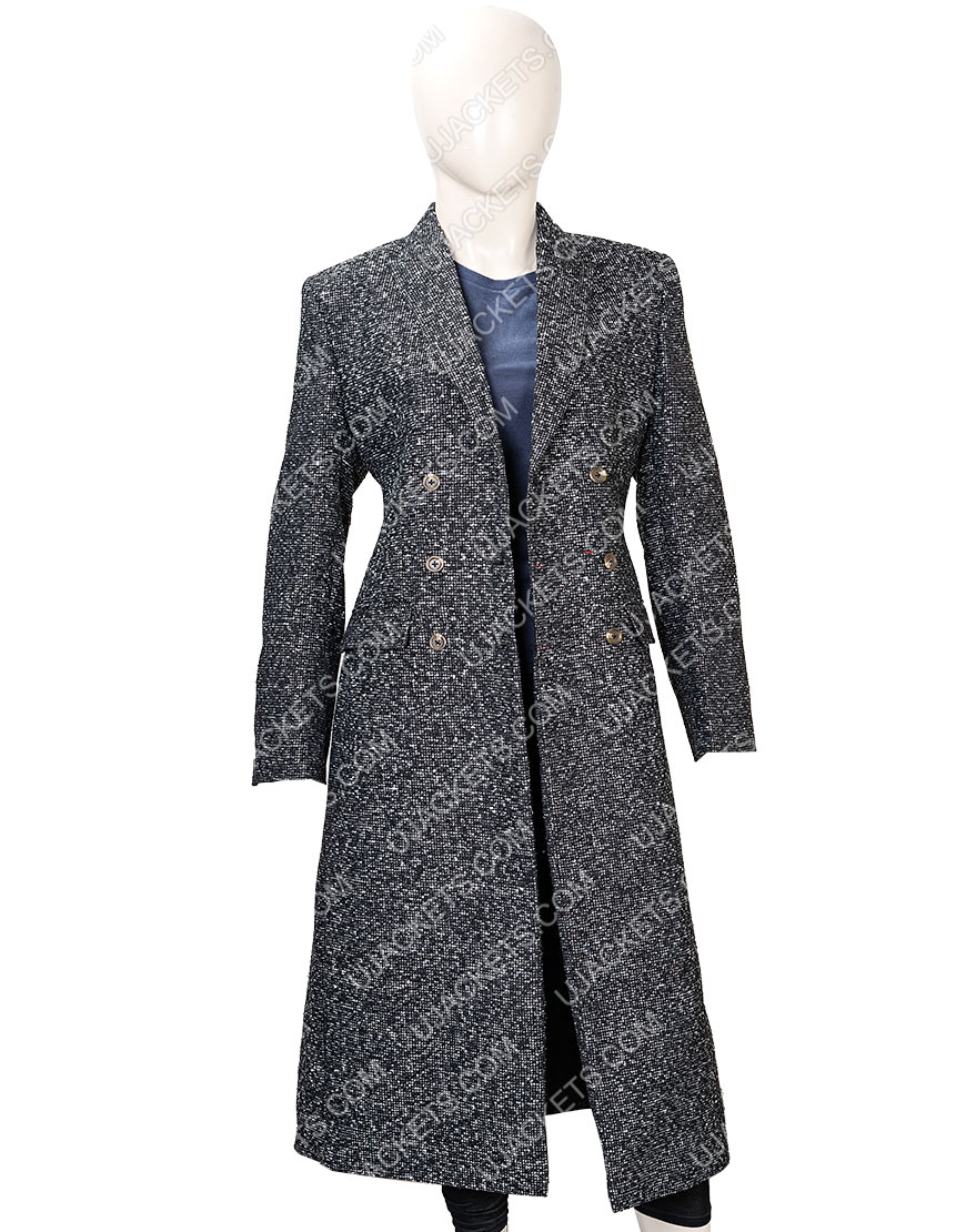 Elizabeth Lail You Season 2 Guinevere Beck Wool Coat