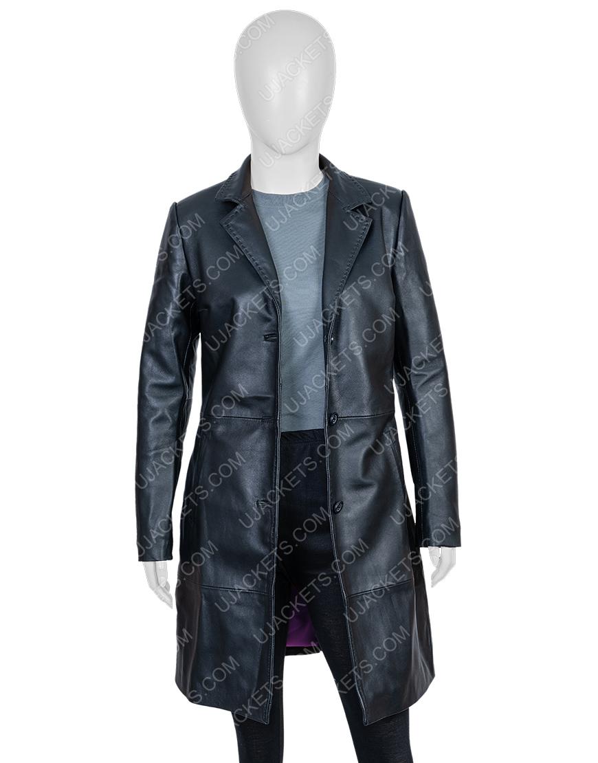 High Fidelity Zoe Kravitz Black Coat