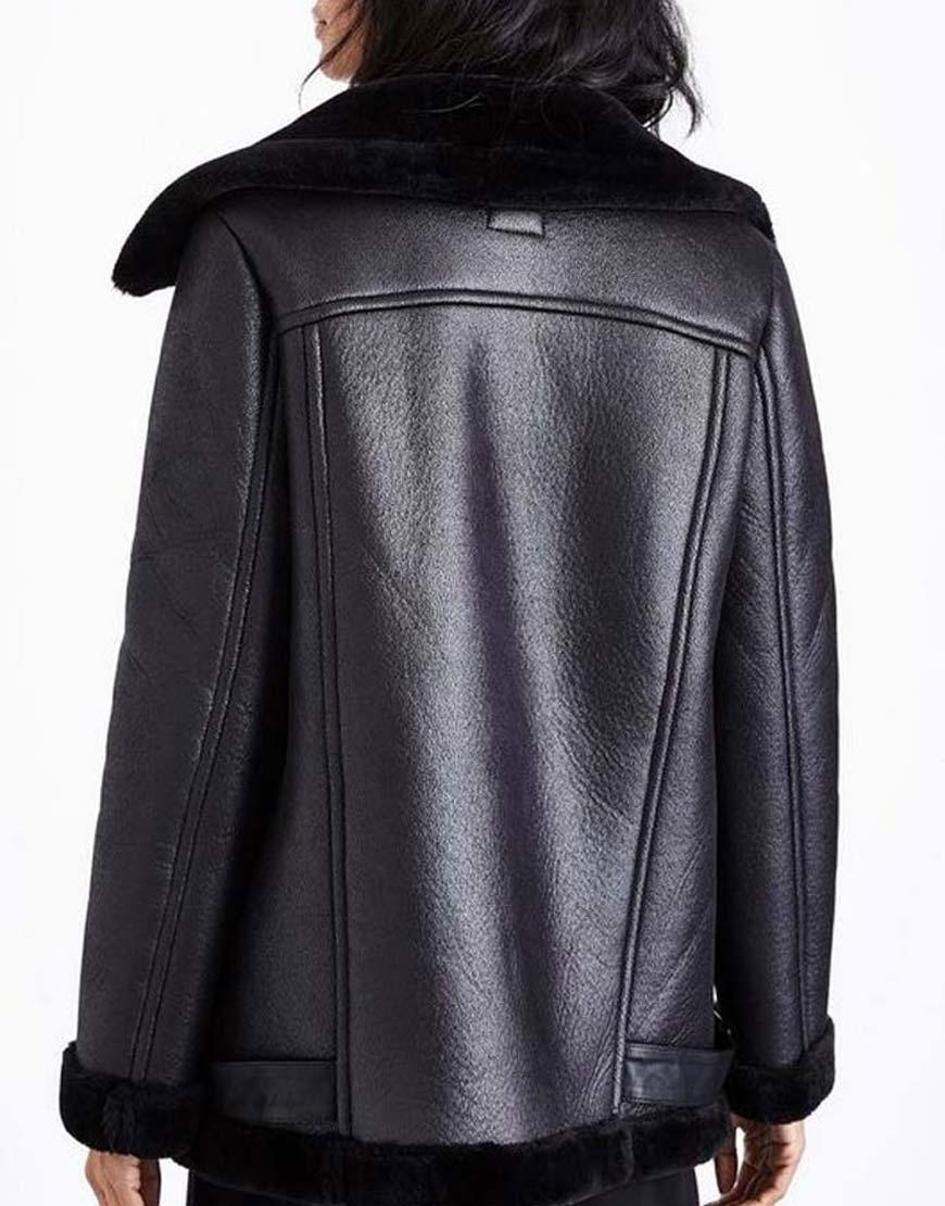 Laysla-De-Oliveira-Lock-Key-Shearling-Leather-Jacket