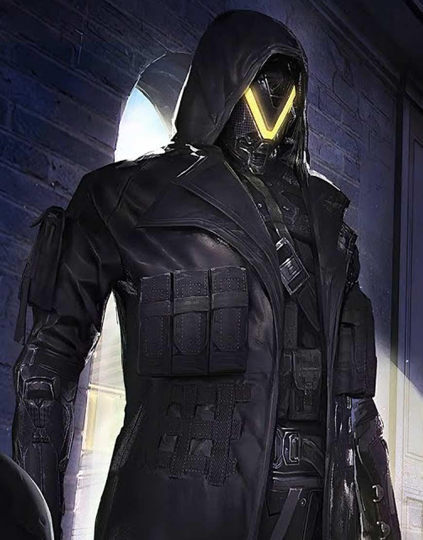 PUBG-Elite-Agent-Season-11-Black-Coat
