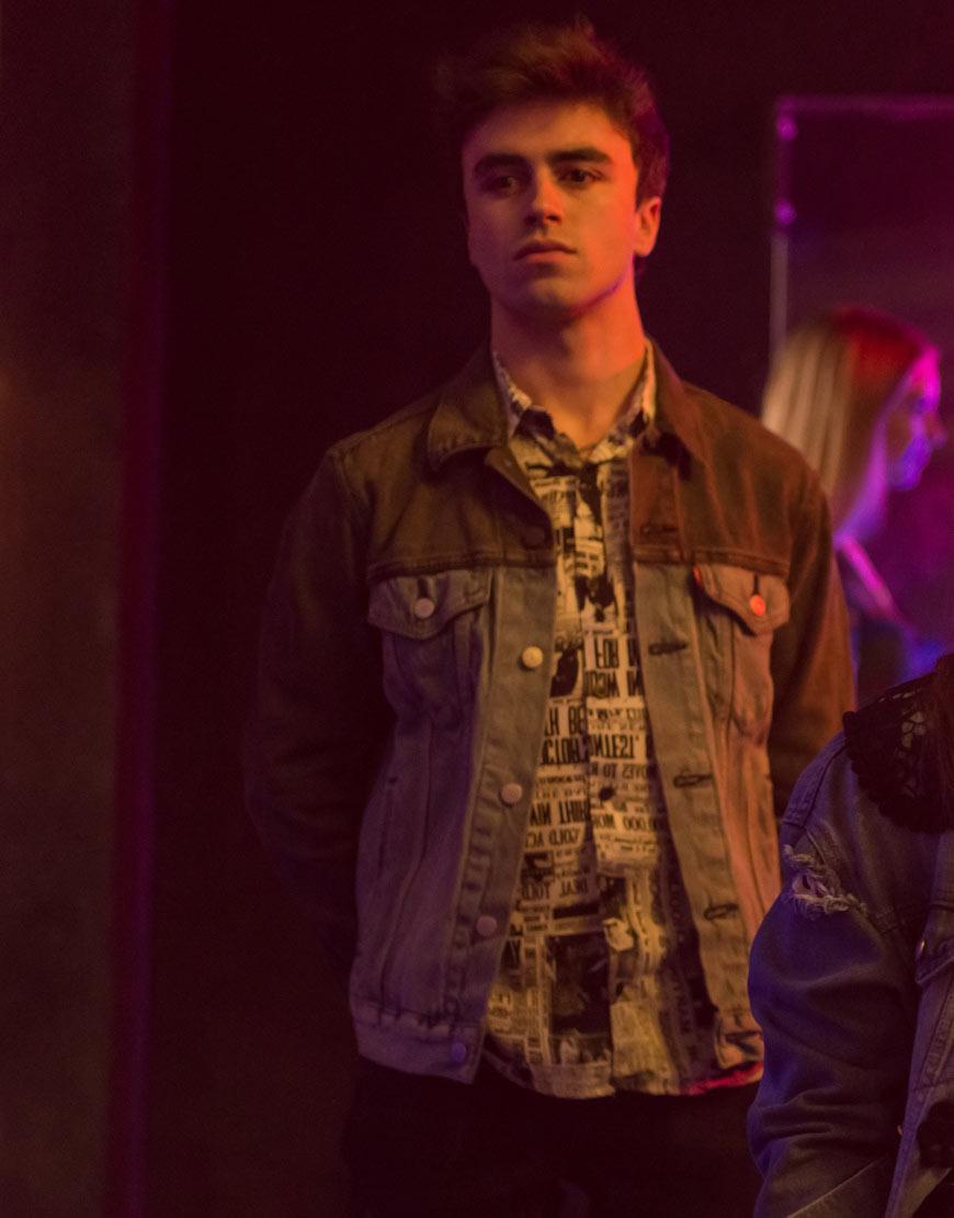 Samuel-Elite-Season-3-Itzan-Escamilla-Denim-Jacket