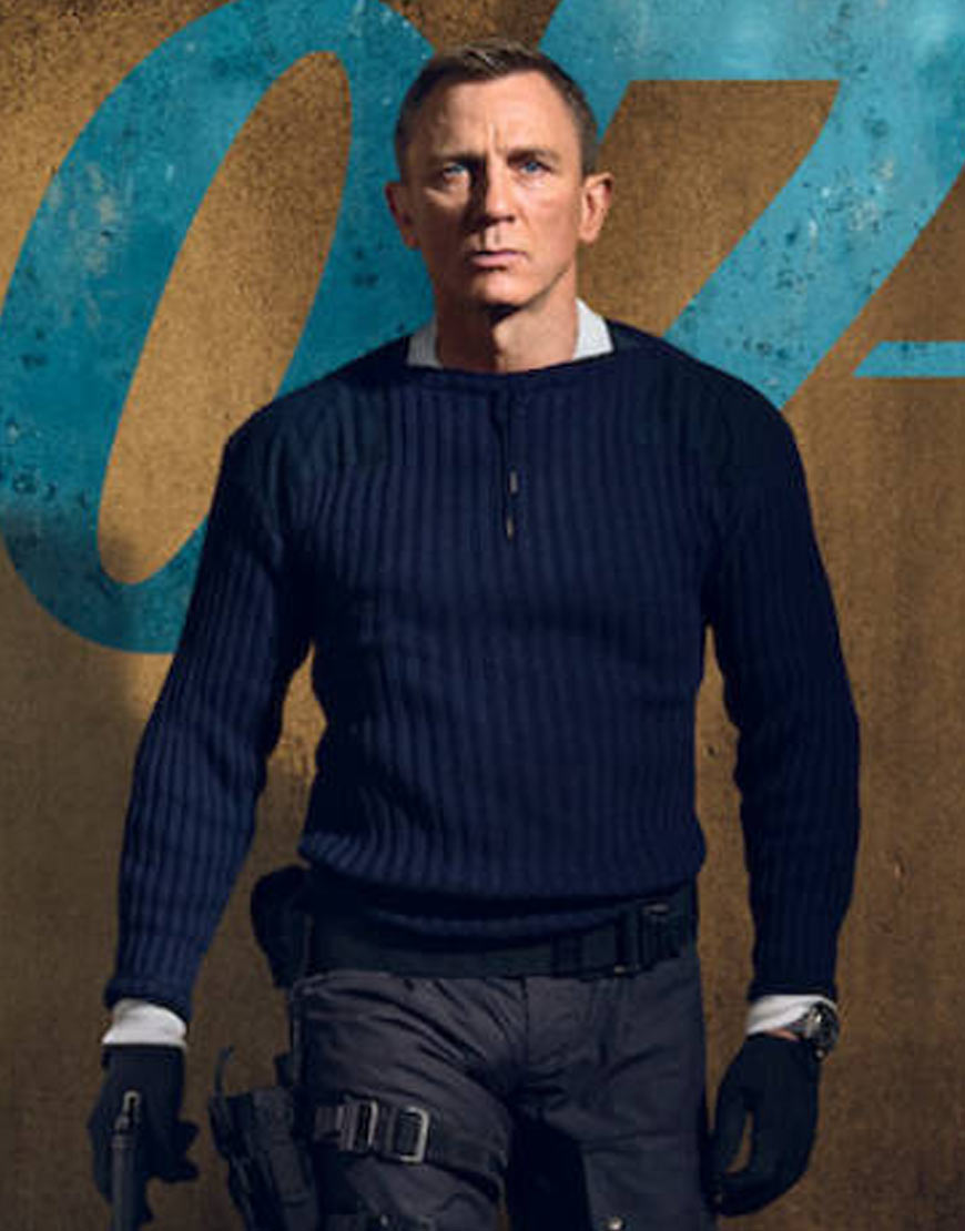 no-time-to-die-james-bond-blue-sweater