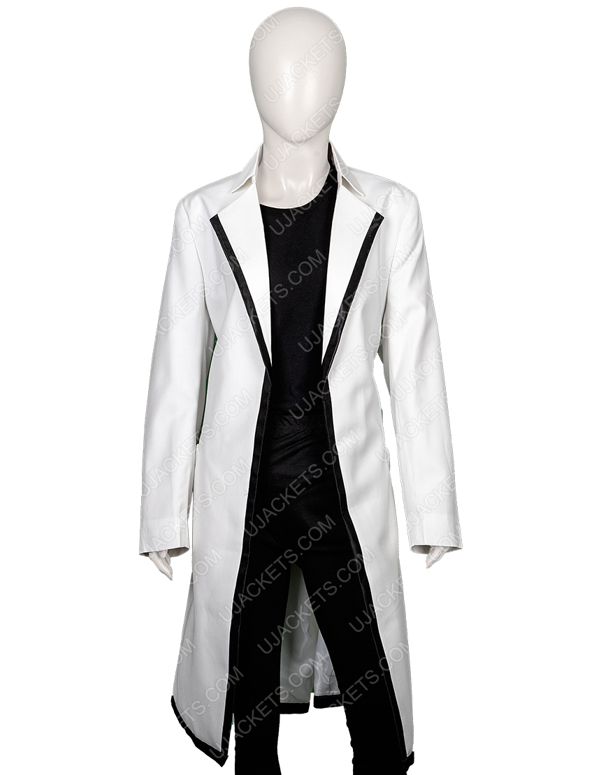 Anne Hathaway The Intern Jules Long Cotton Coat