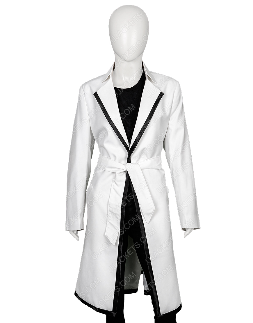 Anne Hathaway The Intern Jules Long Cotton Trench Coat