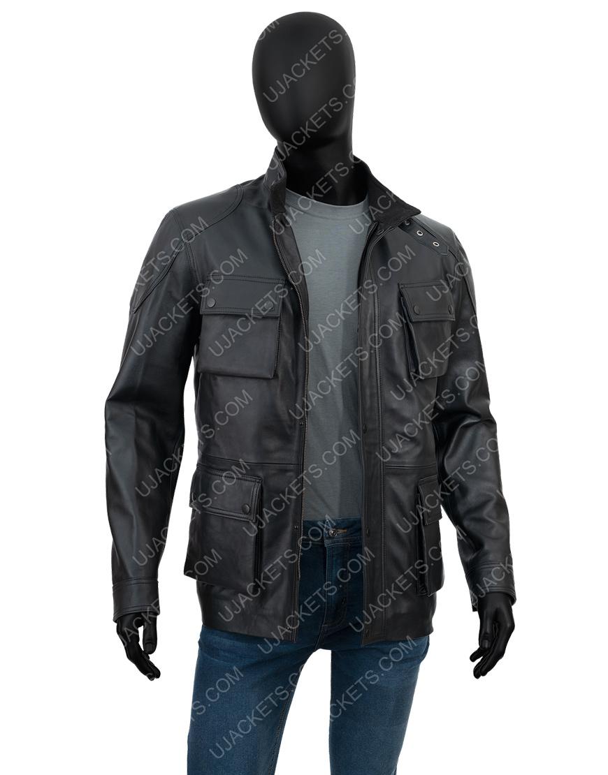 Anthony Mackie Altered Carbon S02 Takeshi Kovacs Black Jacket
