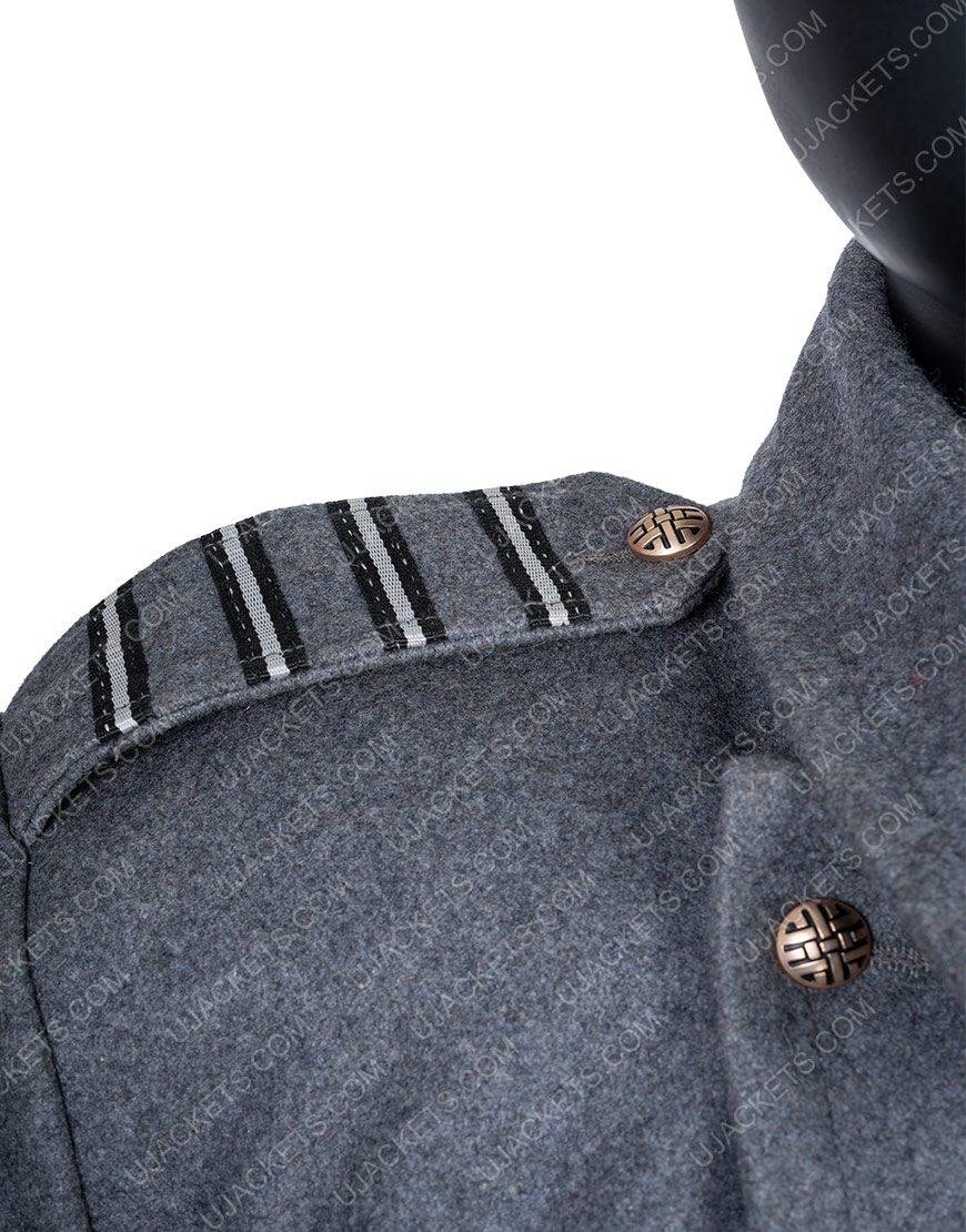 Captain Jack Harkness Torchwood Grey Long Coat