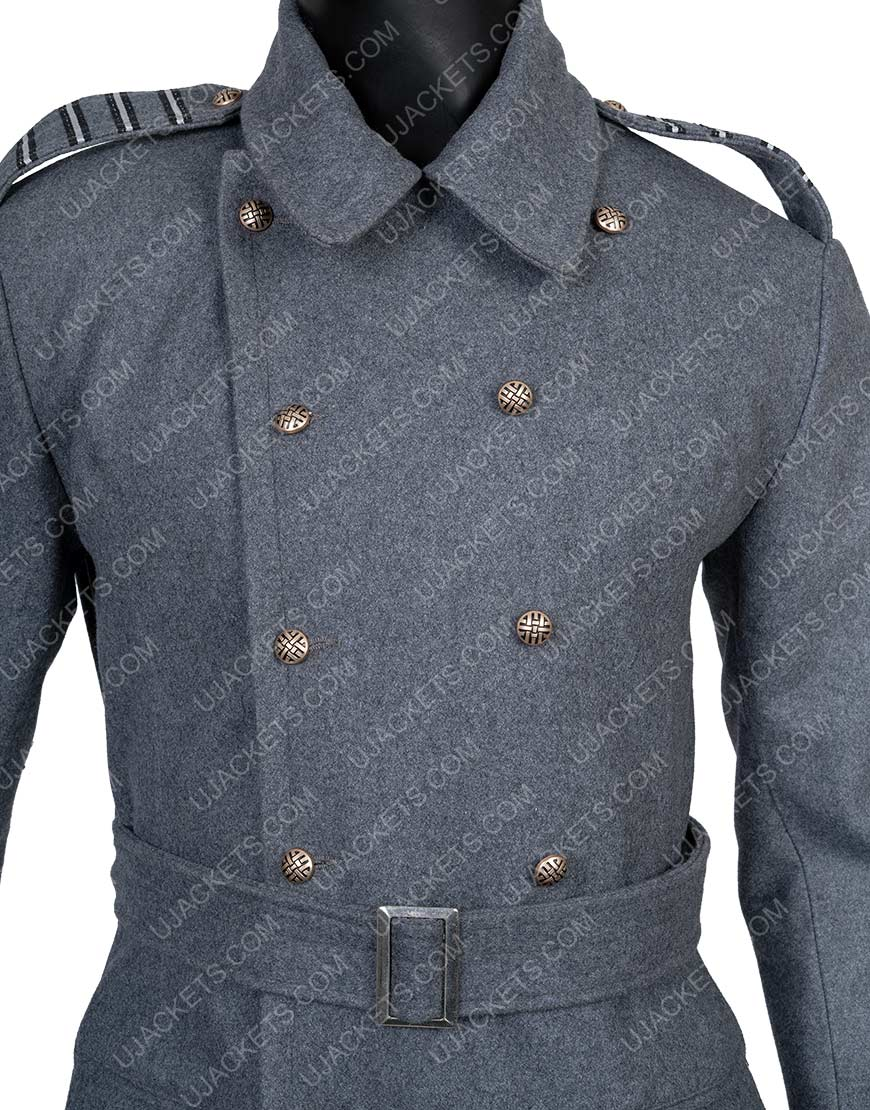 Captain Jack Harkness Torchwood GreyTrench Coat