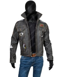 Daft Punk Denim Jacket With Patches