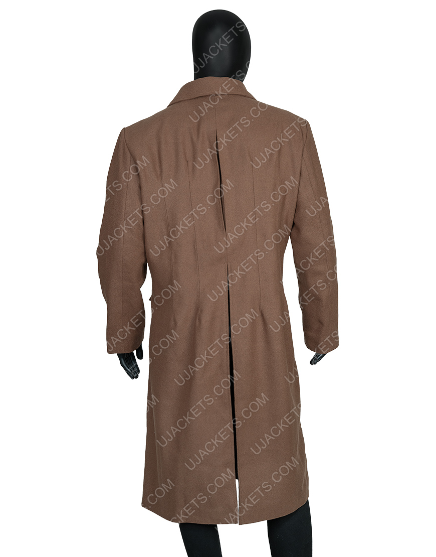 David Tennant 10th Doctor Who Long Brown Woolen Coat