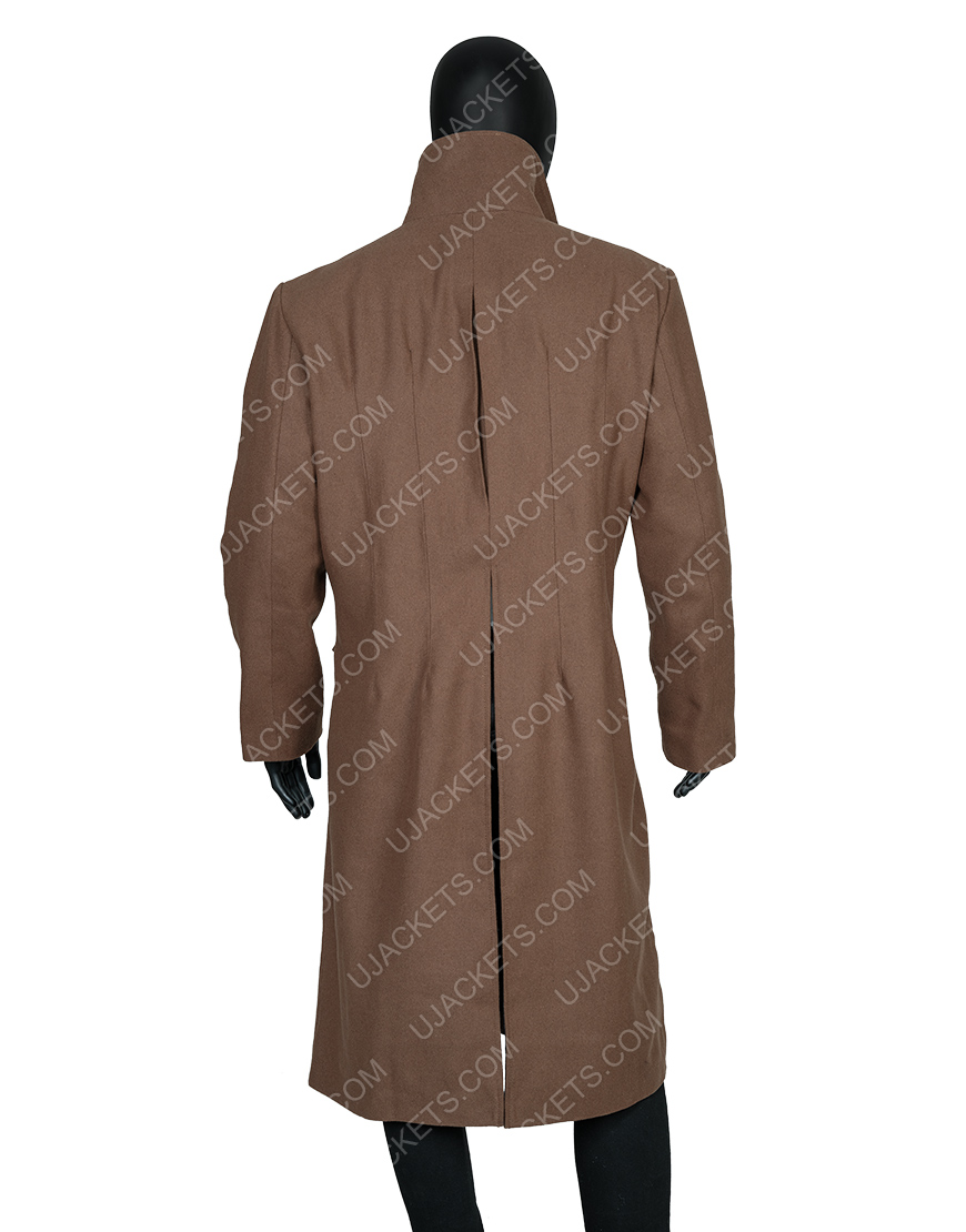 David Tennant Tenth 10th Doctor Who Long Woolen Coat