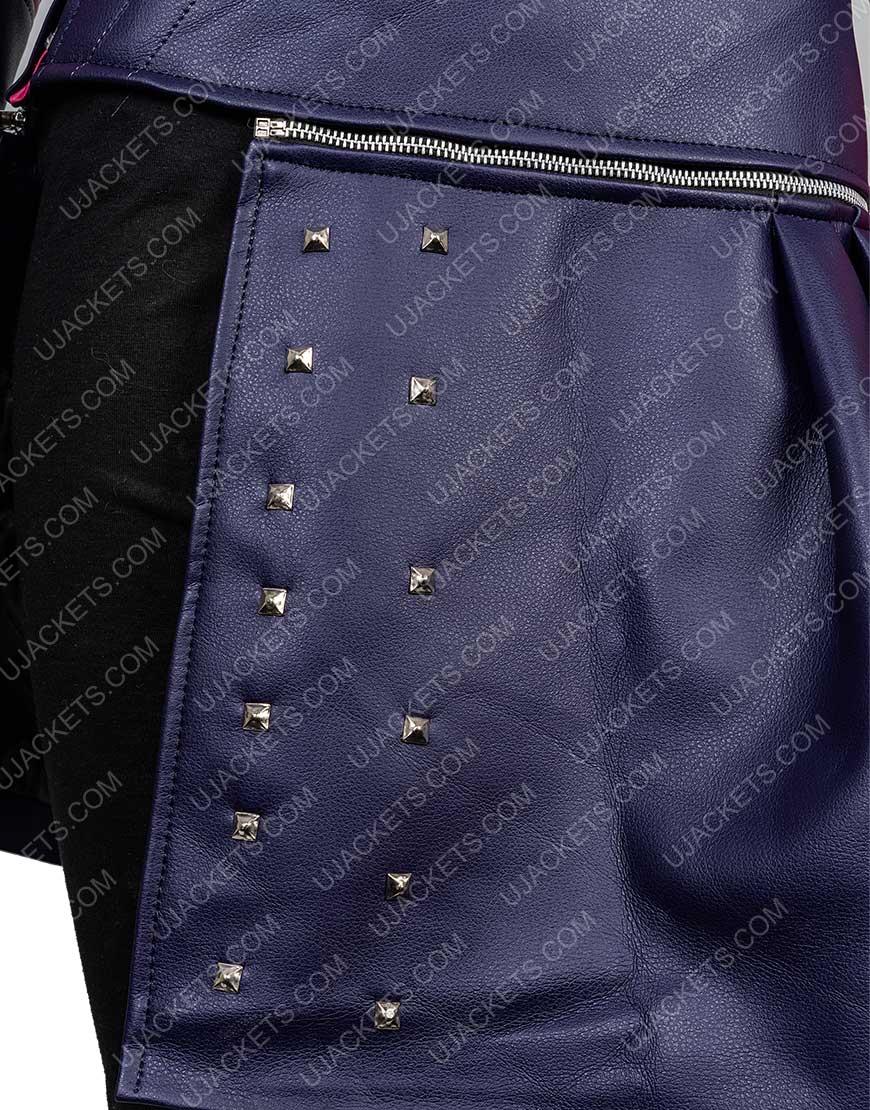 Dove Cameron Descendants 2 Leather Jacket Womens