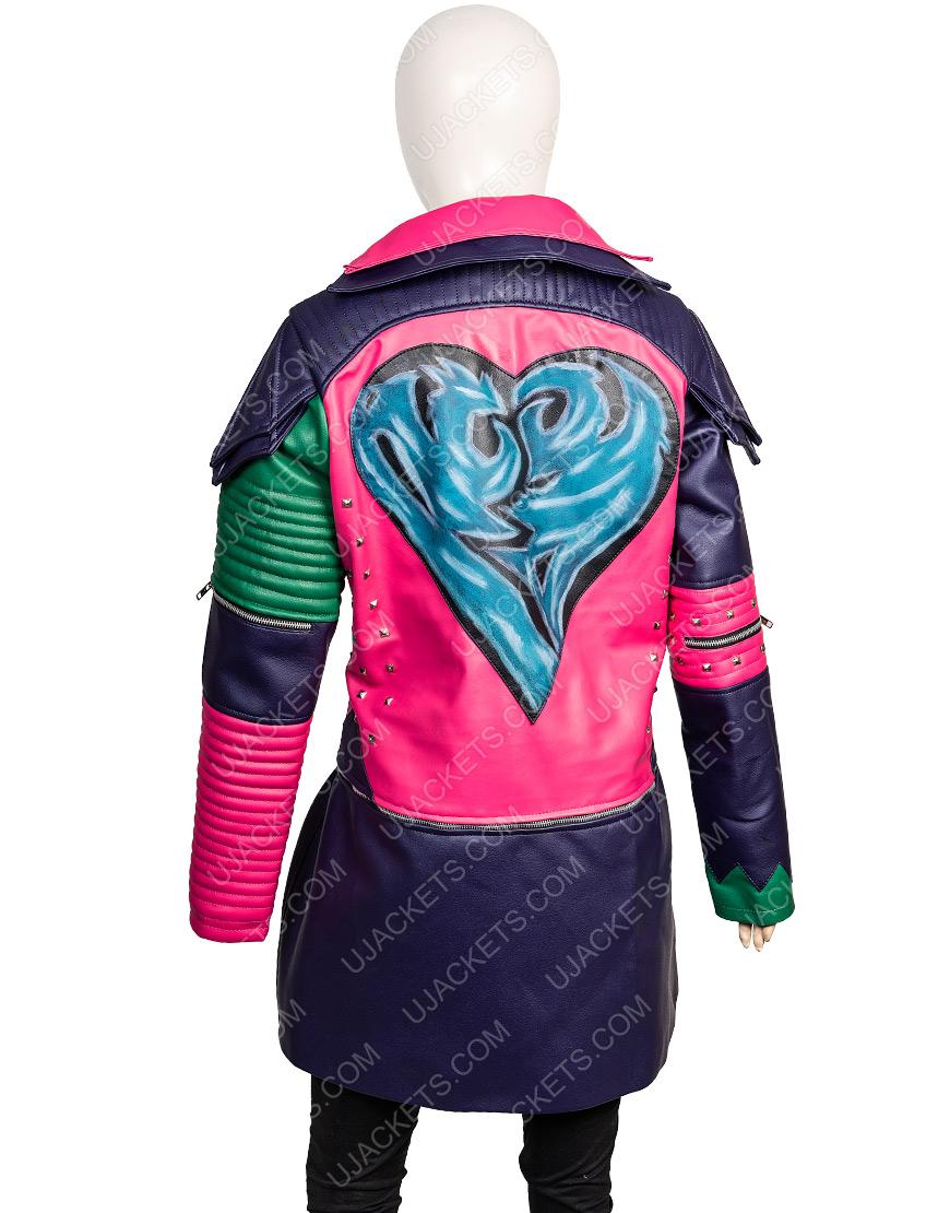 Dove Cameron Descendants 2 Mal Jacket Womens