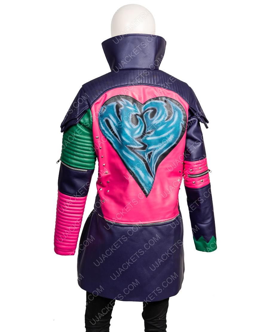 Dove Cameron Descendants 2 Mal Leather Jacket Womens