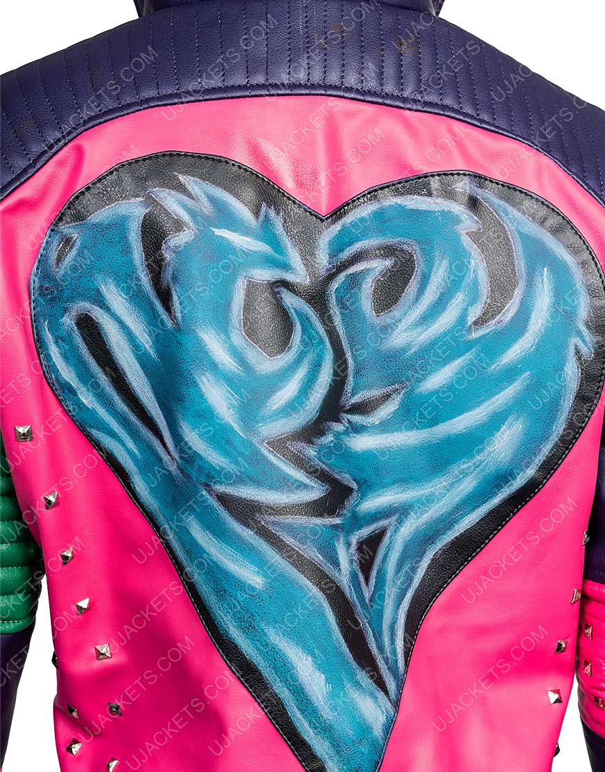 Dove Descendants 2 Mal Motorcycle Leather Jacket Womens