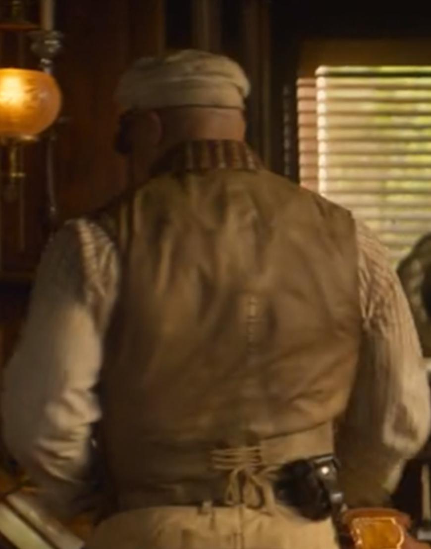 Frank Jungle Cruise Brown Cotton Vest