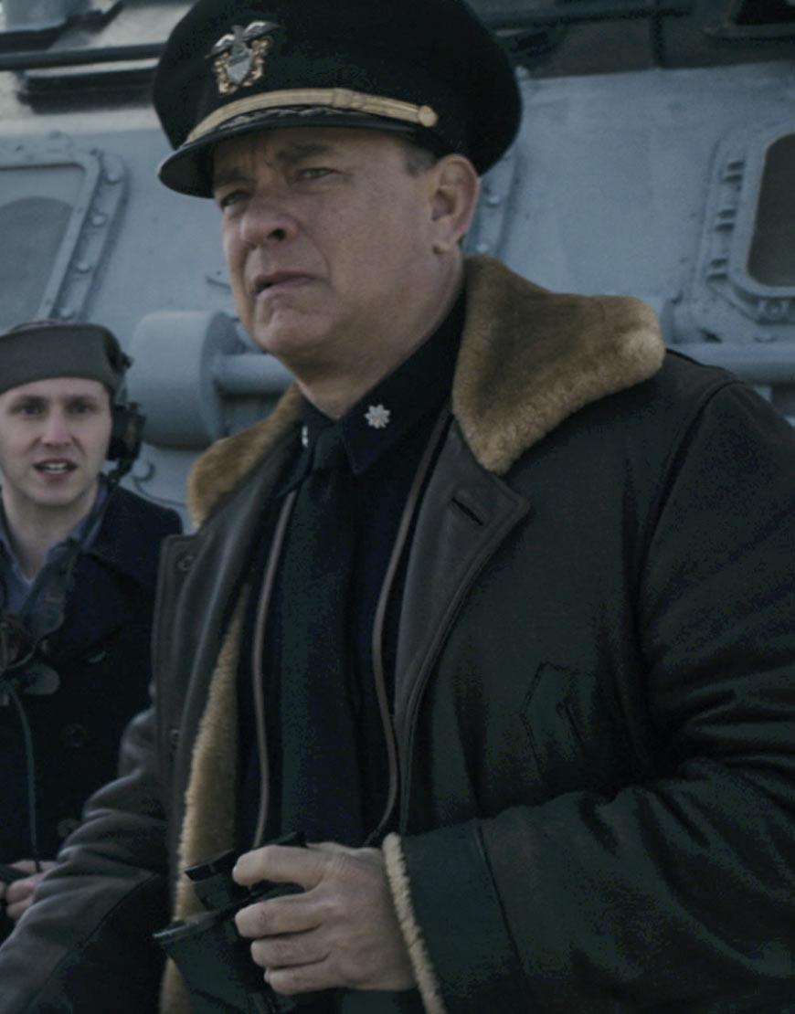 Greyhound-Tom-Hanks-Leather-Jacket