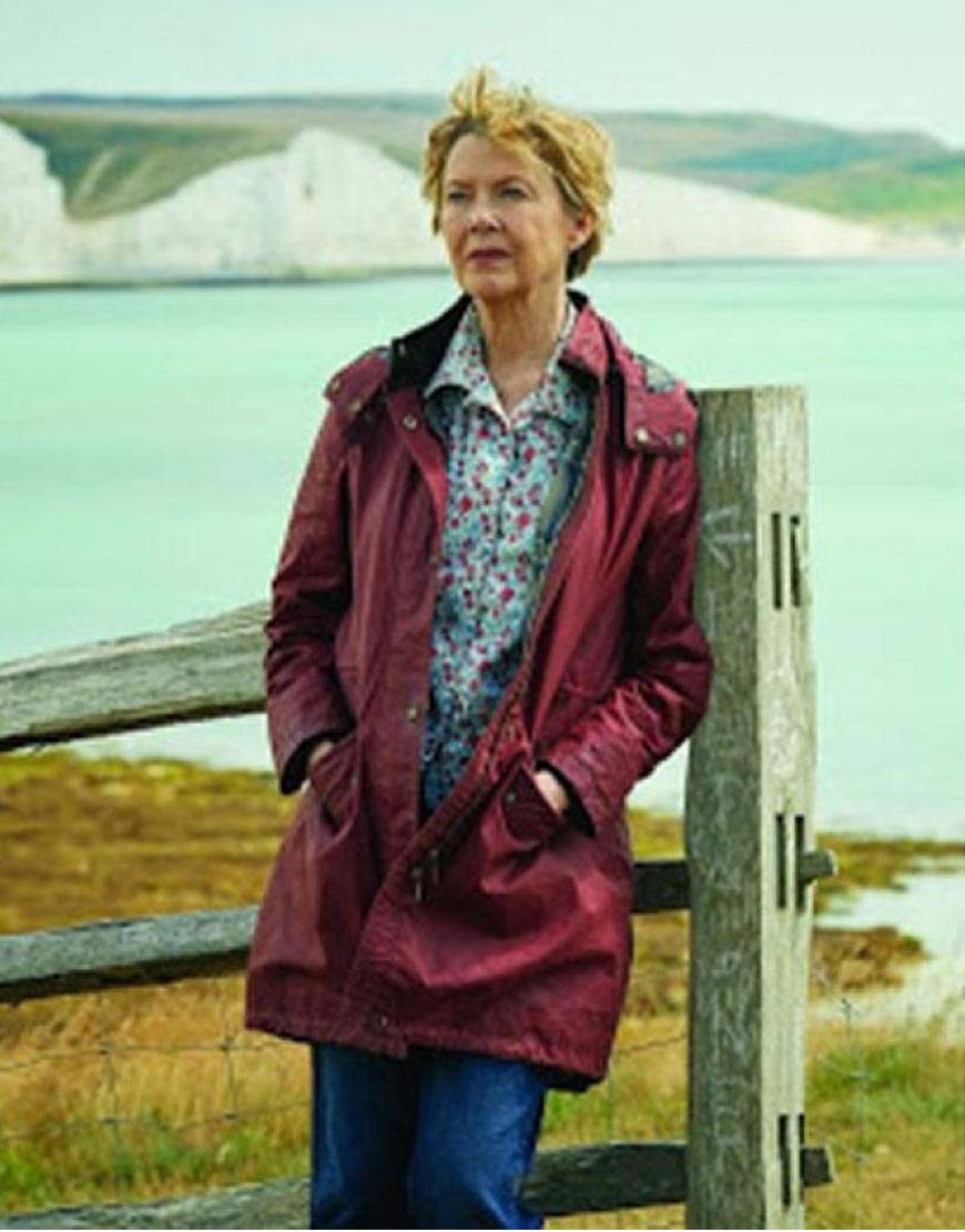 Hope gap Annette Bening coat