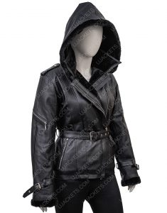 Jennifer Morrison Once Upon A Time Emma Swan Hoodie Black Jacket