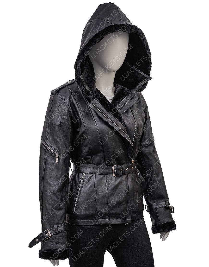 Jennifer Morrison Once Upon A Time Emma Swan Hoodie Black Jacket