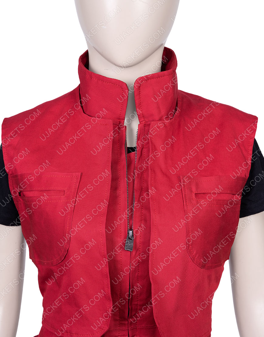Lost In Space Red Judy Robinson Vest