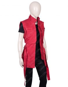 Lost In Space Season 02 Red Judy Robinson Vest
