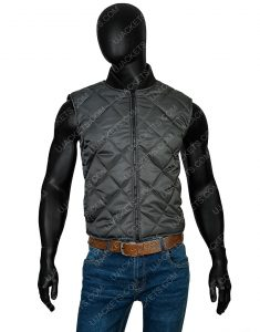 Michael B. Jordan Creed Adonis Johnson Grey Vest