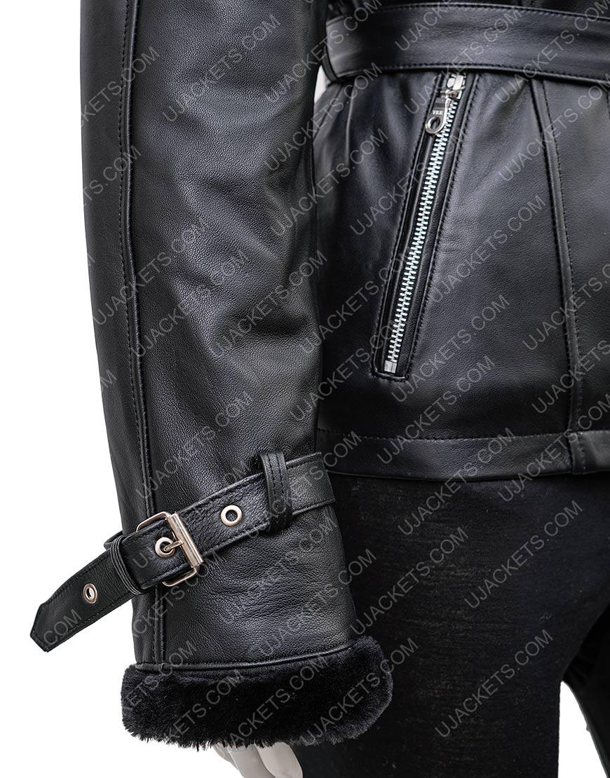 Once Upon A Time Emma Swan Hoodie Black Jacket
