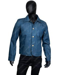Penn Badgley You Season 2 Joe Goldberg Denim Jacket