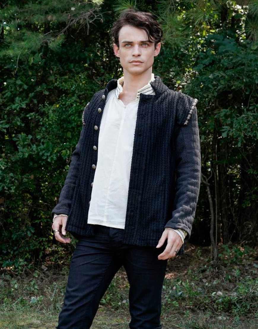 Sebastian-Legacies-Thomas-Doherty-Woolen-Jacket