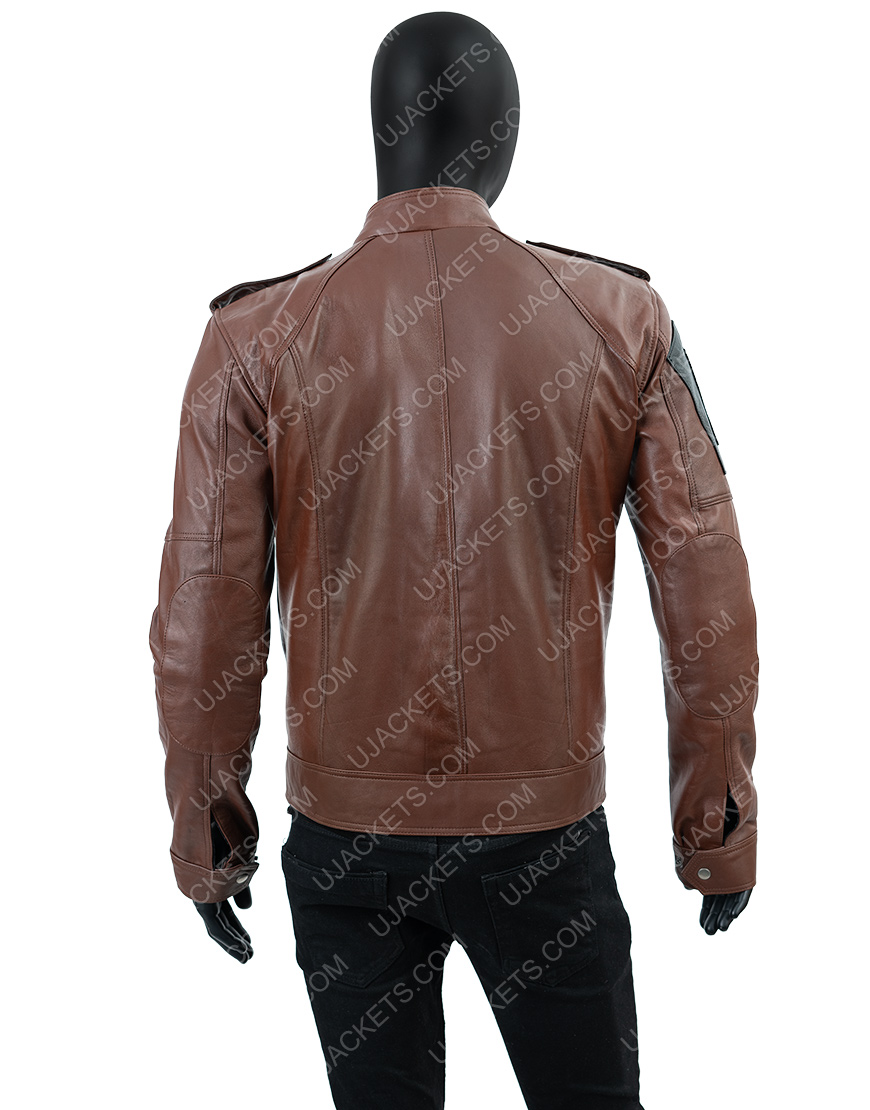 Tom Clancy's The Division Distressed Brown Jacket