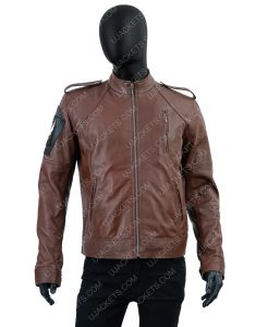 Tom Clancy's The Division Distressed Leather Jacket