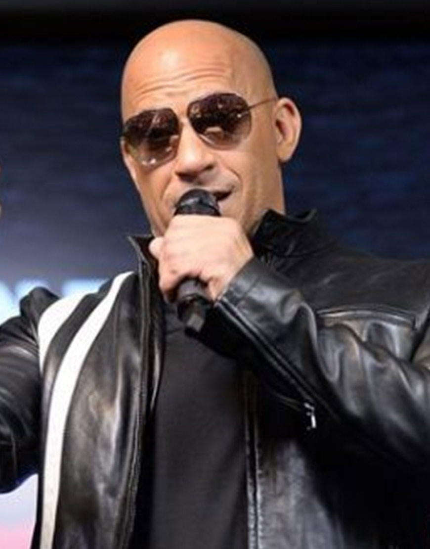Vin-Diesel-Bloodshot-Ray-Garrison-Black-Leather-Jacket