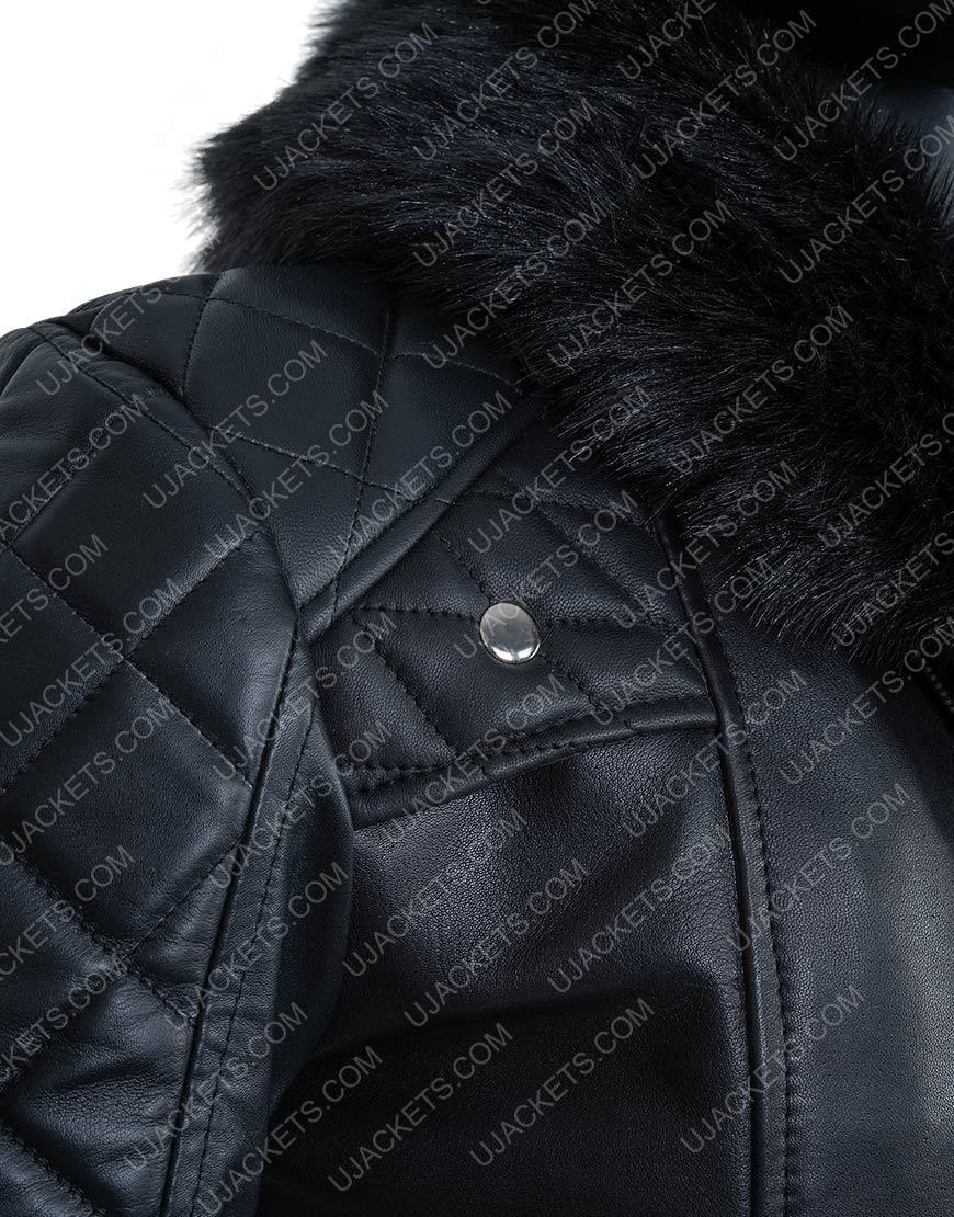 WWE Seth Rollins Black Leather Jacket
