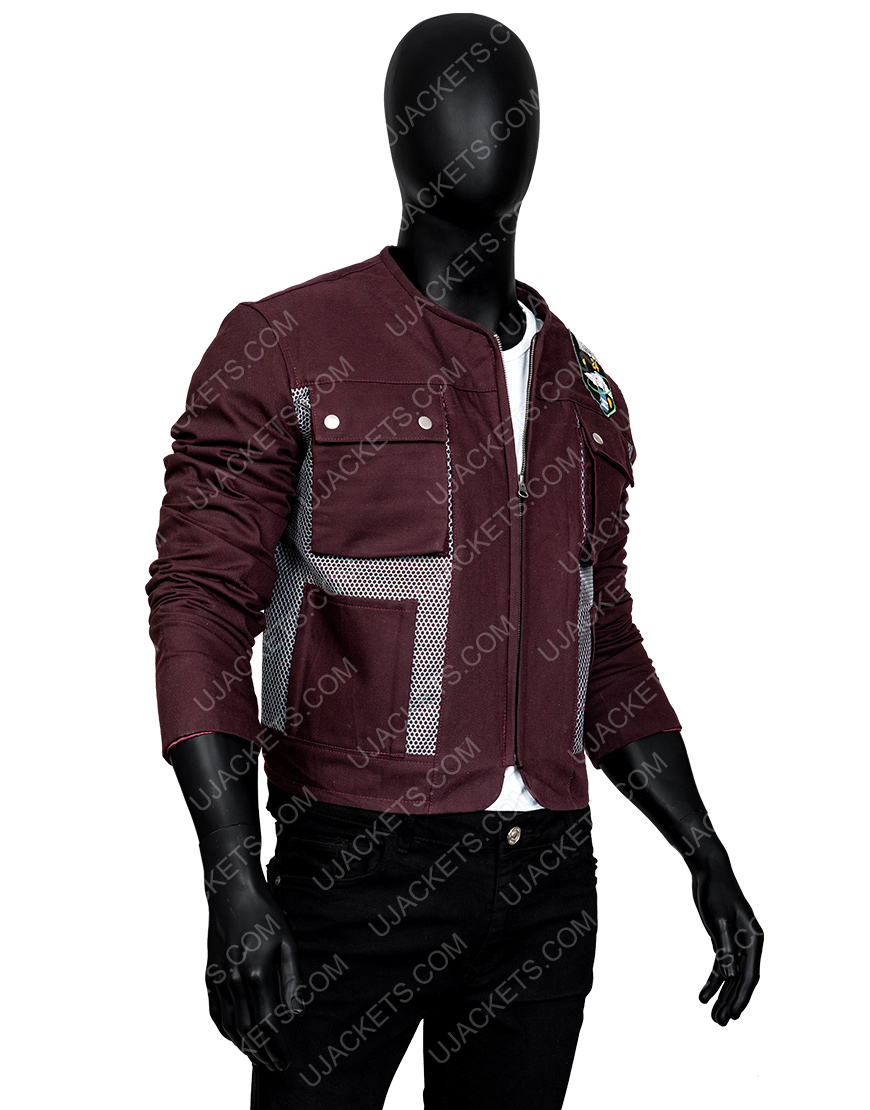 Will Robinson Maxwell Jenkins Brown Lost In Space Jacket
