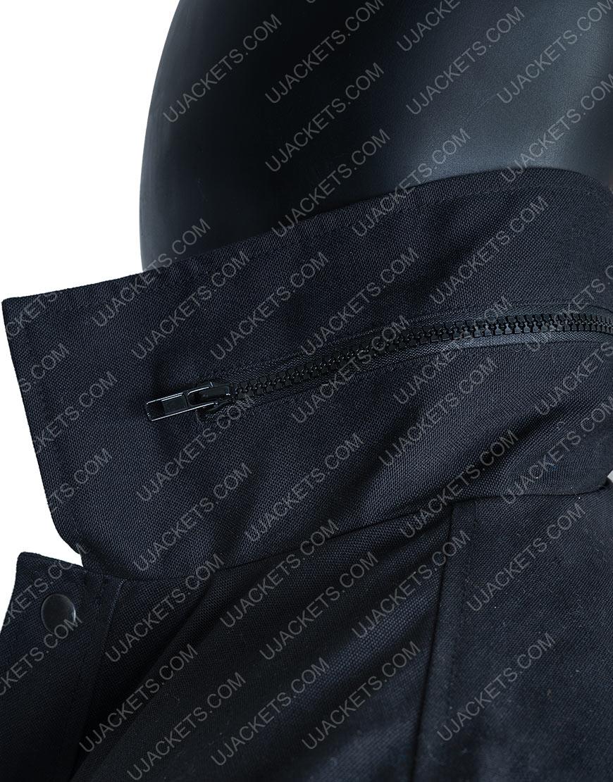 Aaron Paul Westworld Ep7 Black Cotton Jacket