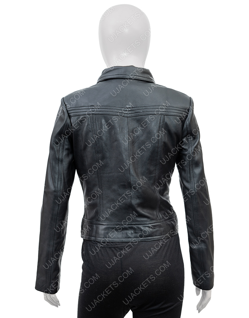 Ambyr Childers You Season 2 Candace Stone Leather Jacket