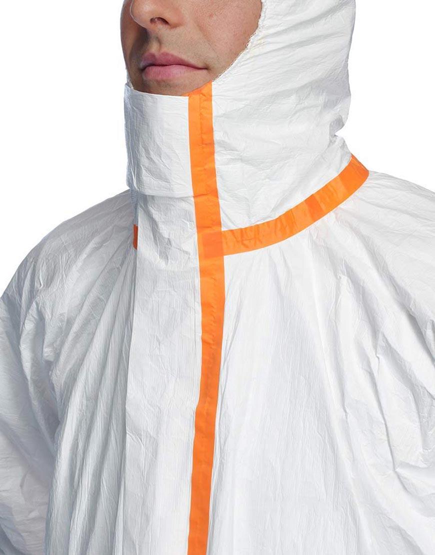 Orange-Striped-Cotton-Polyester-Protective-Costume