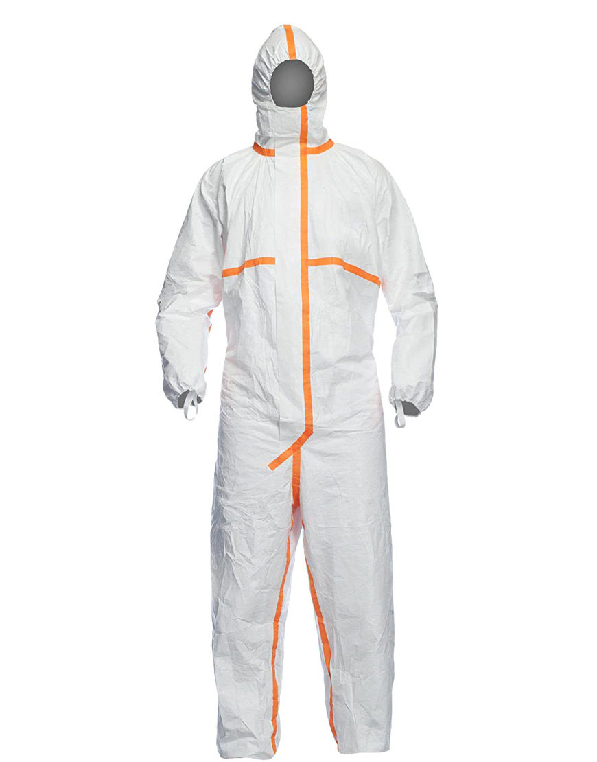 Orange-Striped-Cotton-Polyester-Protective-Suit