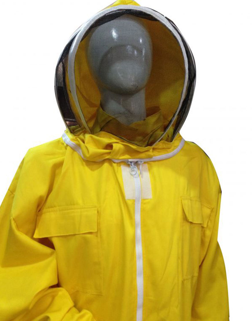 Professional-Protective-Suit-fencing-Yellow