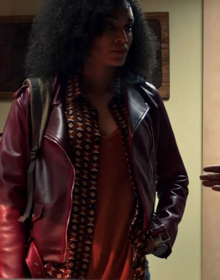 Queen-Sono-Maroon-Leather-Jacket