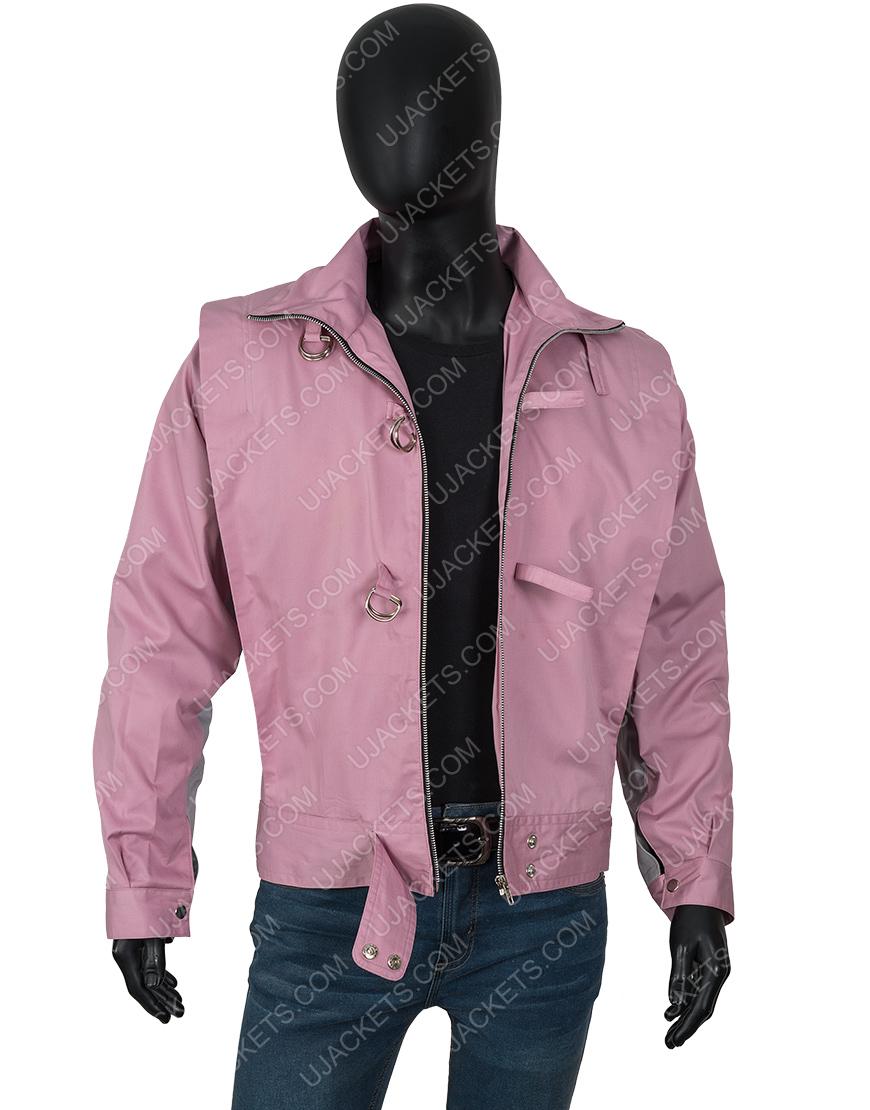 American Horror Story 1984 Xavier Plympton Pink Jacket