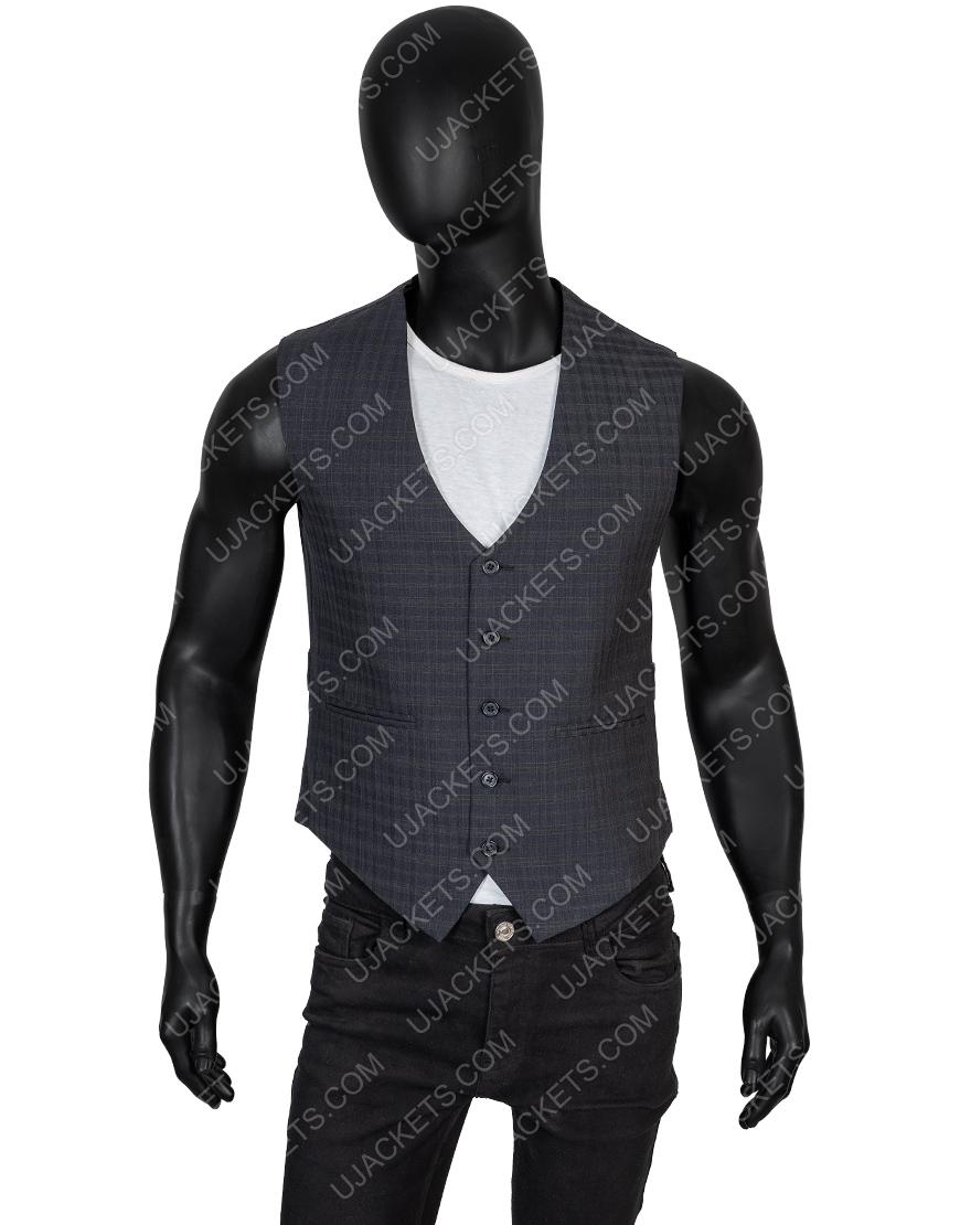 Charlie's Angels Jonathan Tucker Checkered Vest
