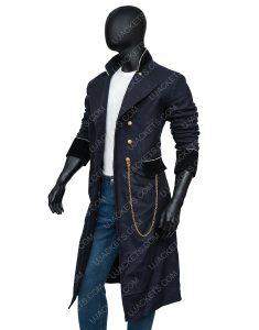 Charlie Manx NOS4A2 Season 02 Zachary Blue Military Coat
