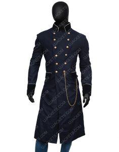 Charlie Manx NOS4A2 Season 02 Zachary Quinto Blue Military Coat