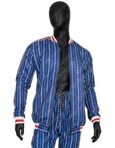 Colin Farrell The Gentlemen Coach Bomber Suit