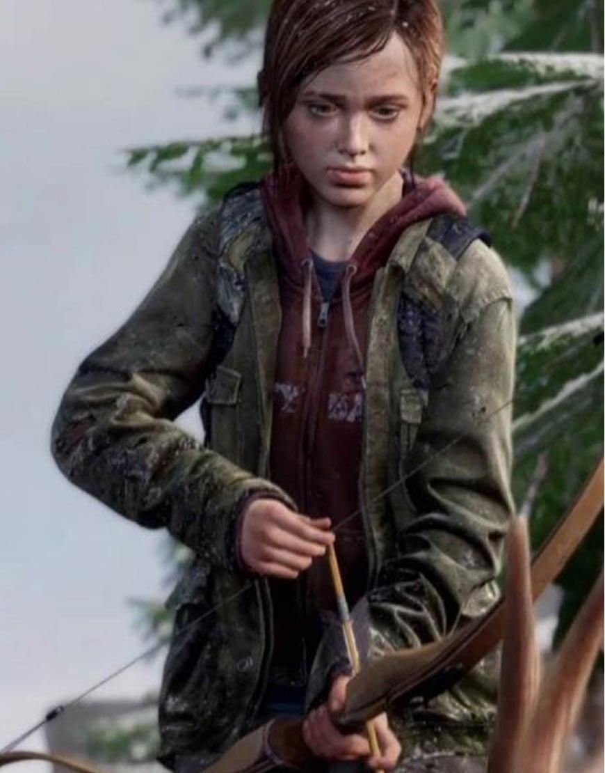 Ellie-The-Last-Of-Us-Part-II-Military-Green-Jacket