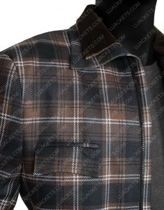 John Dutton Yellowstone Season 02 Costner Plaid Jacket
