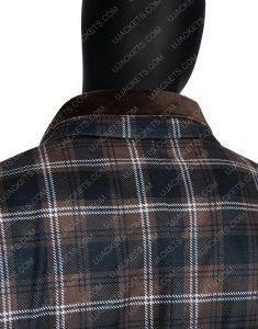 John Dutton Yellowstone Season 02 Plaid Jacket