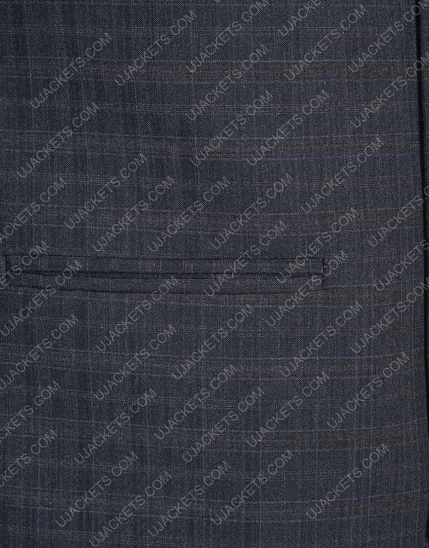 Jonathan Tucker Charlie's Angels Checkered Vest