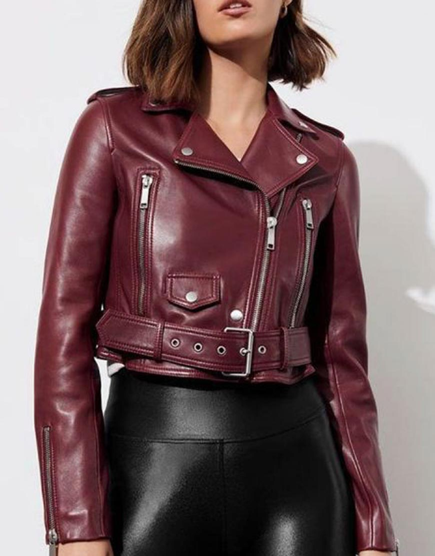 13-Reasons-Why-S04-Jessica-Davis-Maroon-Leather-Cropped-Jacket-510x600